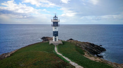 Faro Isla Pancha Ribadeo Galicia Cantábrica