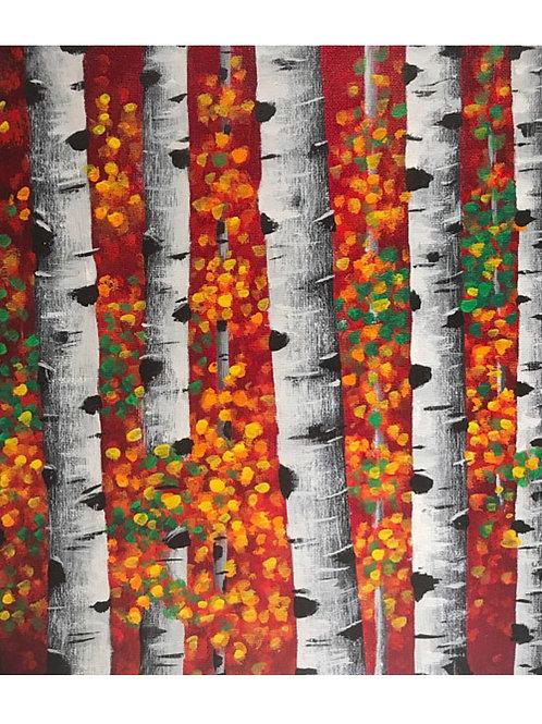 Slender Birches