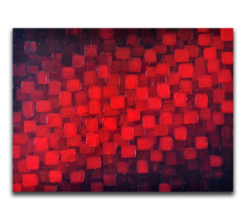 Black U0026 Red | Abstract Art Paintings Original Abstract Wall Art By ZarasShop