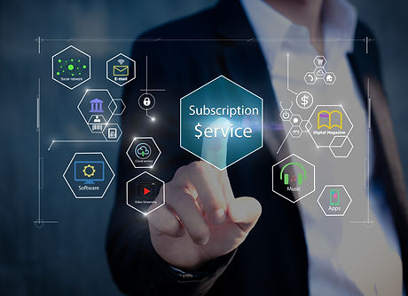 Subscription service business model conc