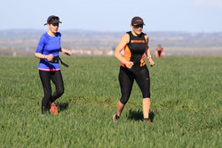 leg 2 relay claire & mandy