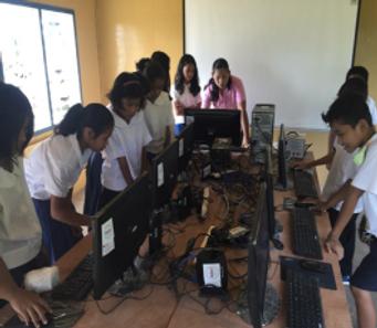 Mahayahay Laboratory & E-Classroom- Cons