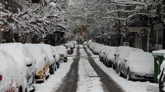 Ραγδαία κακοκαιρία έφερε η «Ωκεανίς»: Στο -6 η χαμηλότερη θερμοκρασία με χιόνια και βροχές [εικόνες