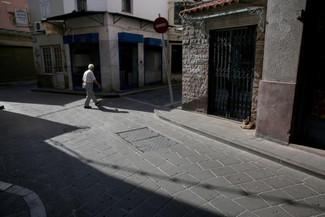 Κατέβασε ρολά στον Τσίπρα η Λέσβος – Έρημη η αγορά της Μυτιλήνης – Κλειστά καταστήματα [pics]