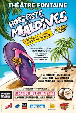 Hors-piste aux Maldives