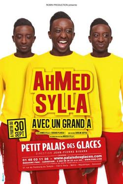 Photo_ William LET pour l'affiche _Ahmed Sylla avec un grand A__ - Conception direction artistique A
