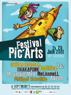 Festival PIC'ARTS 2011