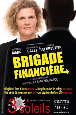 Photo William LET © • _Brigade Financière_ avec Nathalie Mann, Hugues Leforestier - Pour l'agence IO