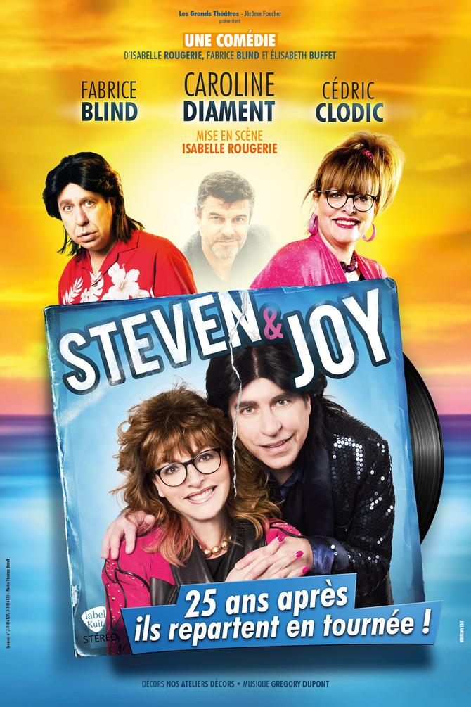 Affiche Steven and Joy - William LET©