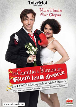 Camille et Simon fêtent leur divorce