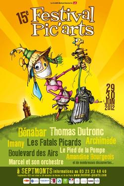 Festival PIC'ARTS 2012