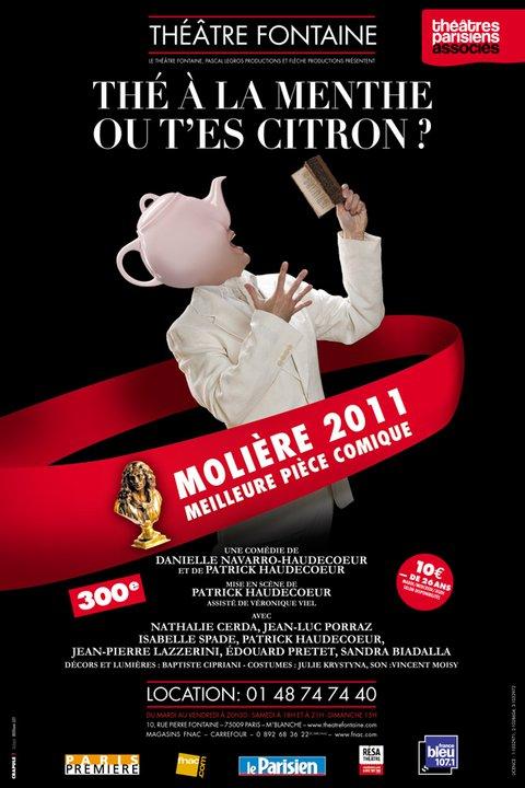 Adaptation de la création de Crapule, pour La Version, Molière 2011_ William LET