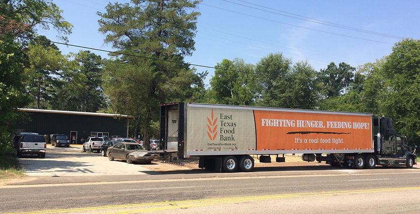 Nacogdoches HOPE food Pantry ETFB East Texas Food Bank 2100 E. Main St.