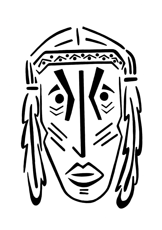The Letter I (Tribal)