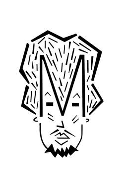 The Letter M (Moritzio)