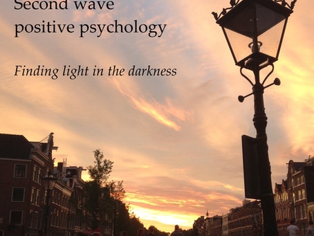 What is second wave positive psychology?
