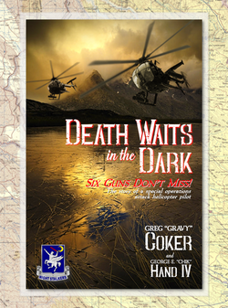 """Book Cover for """"Death Waits in the Dark"""""""