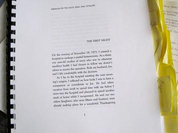 My Complete Manuscript in Fall 1992