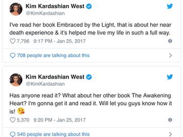 Kim Kardasian's Book Club