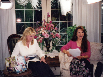 Infomercial with Cathy Lee Crosby