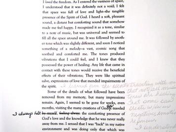 Manuscript Notes