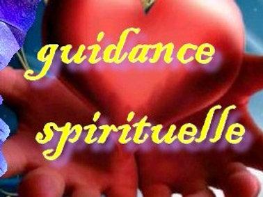 une guidance spirituelle  d'une heure par téléphone