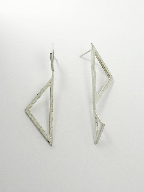 Brinco Triângulos  MM25