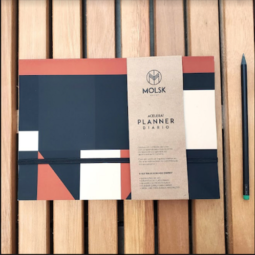 Planner Diário Mosaico MM33