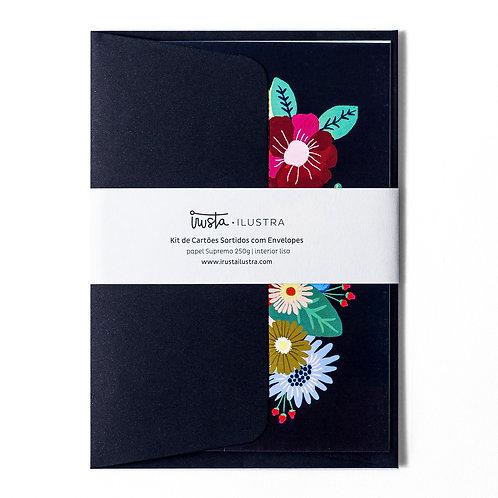 Cartão Floral Set 2 MM73