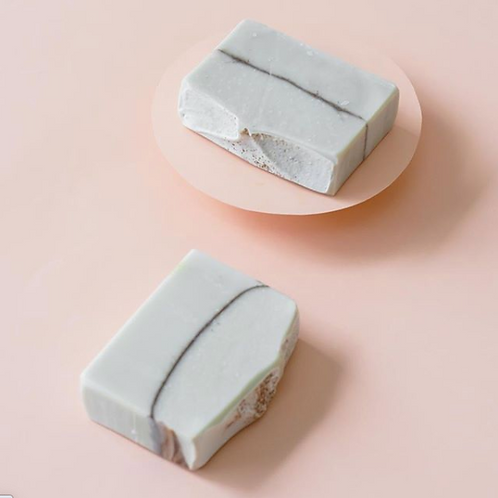 Sabonete Argila Branca e Lavanda