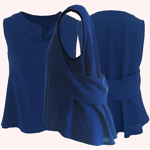 Blusa Chá Chá Azul MM68
