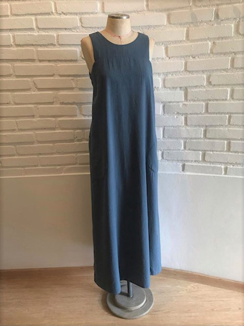 Vestido Regata azul  MM52