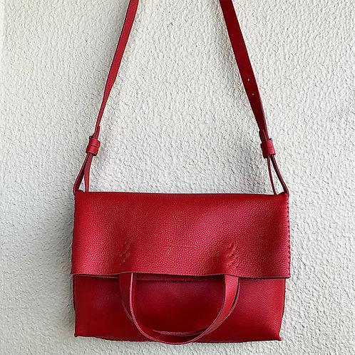 Bolsa Tombada vermelha