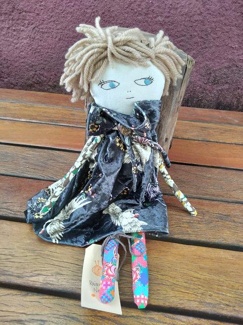 Boneca de Pano Rainha Neti MM77