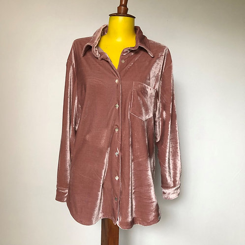 CamisaVeludo Rosé  MM98