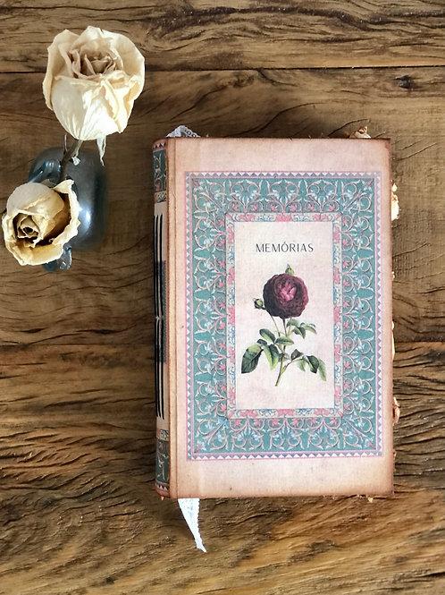 Caderno / Livro Memórias Impressas   MM97