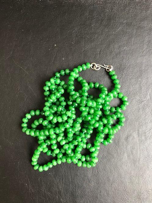 Colar Jade Verde MM27