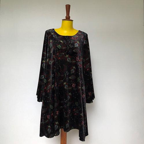 Vestido Trapézio Paisley MM98