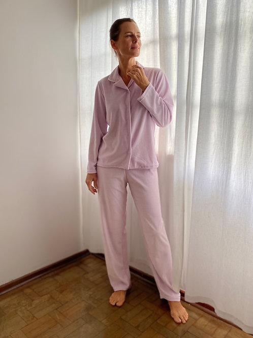 Pijama Lilás Plush MM40