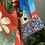 Thumbnail: Kimono Tokyo médio Arara Azul fundo off vermelho MM40