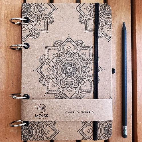Caderno - Mandala Kraft   MM33