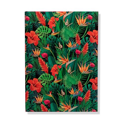 Caderno Jardim Tropical MM85