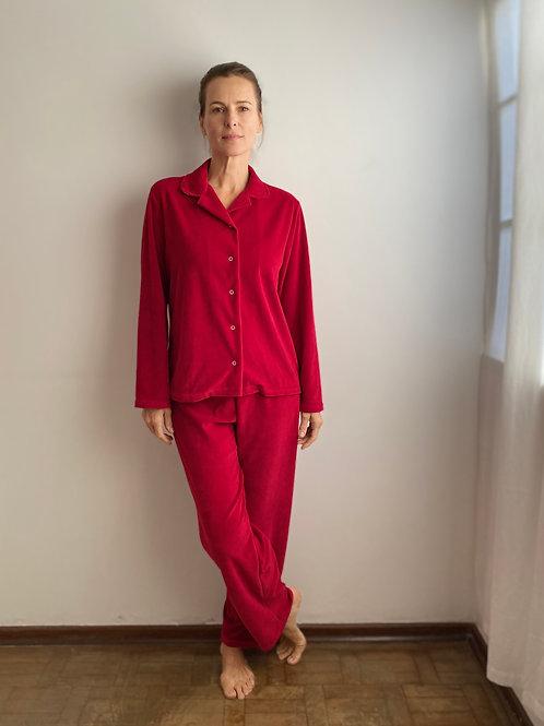 Pijama Vermelho Plush MM40