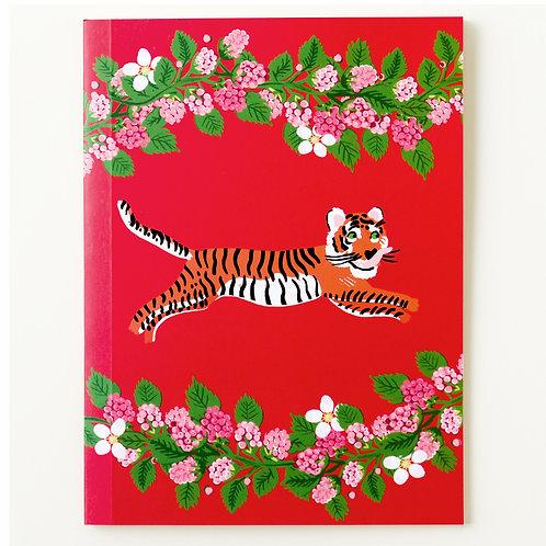 Caderno Tigresa Framboesa MM73