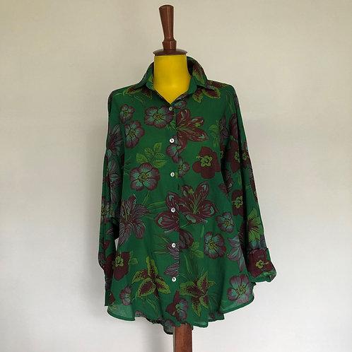 Camisa Hibisco Verde MM98