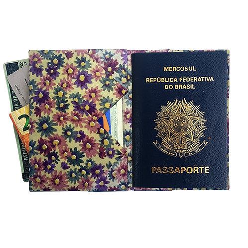 Porta Passaporte-Floricultura  MM74