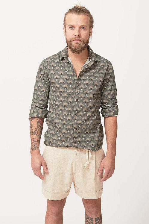 Camisa Manga Longa Leque MM45