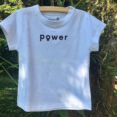 Camiseta Power    Branca MM06