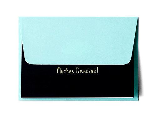 Cartão Mucha Gracias Set 3 MM73