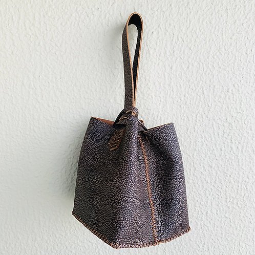 Bolsa Mini nude textura
